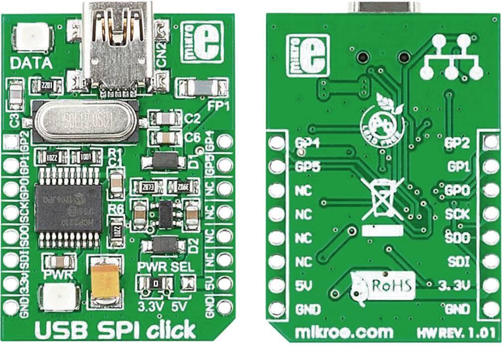 Vývojová doska MikroElektronika MIKROE-1204