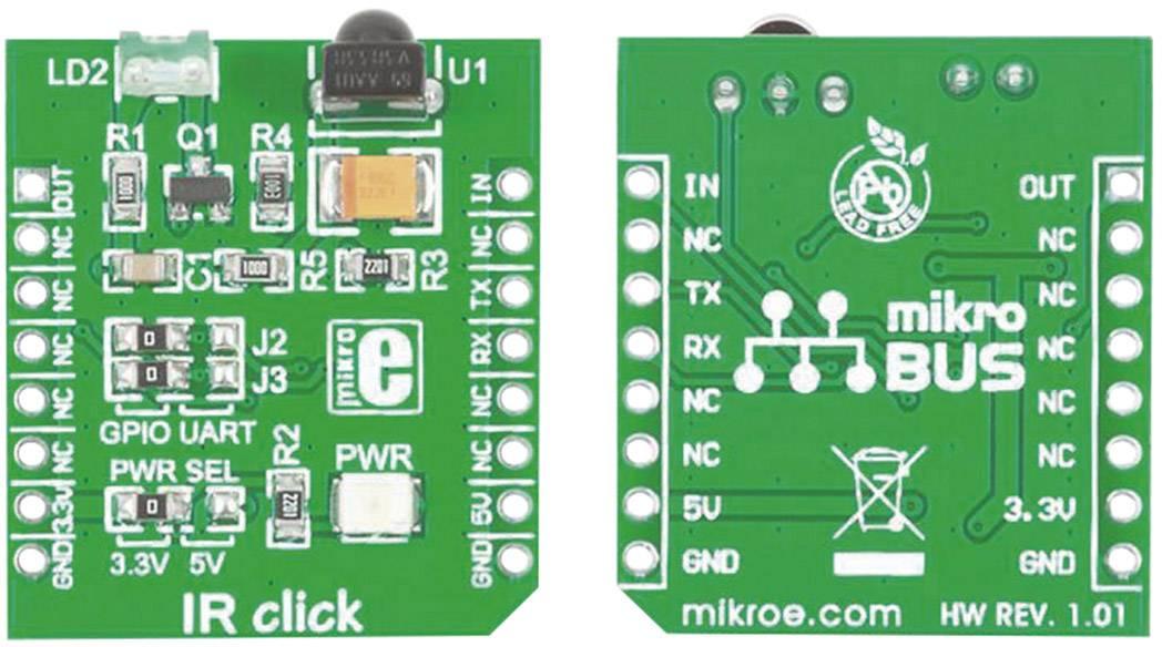 Rozšiřující deska MikroElektronika MIKROE-1377