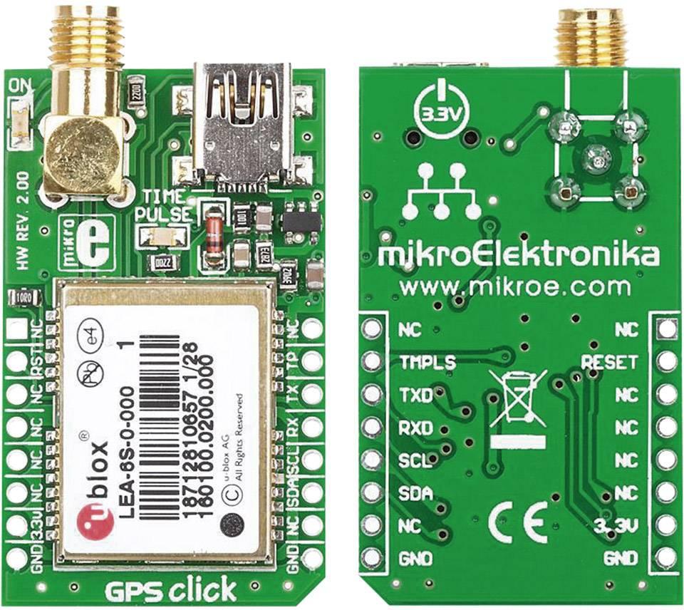 GPS přijímač MikroElektronika MIKROE-1032