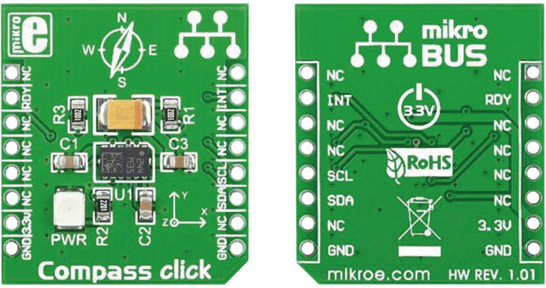 Rozšiřující deska MikroElektronika MIKROE-1386