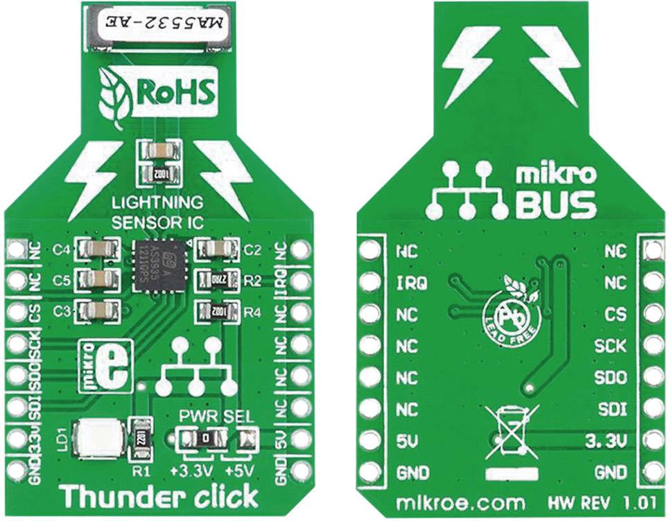 Rozšiřující deska MikroElektronika MIKROE-1444