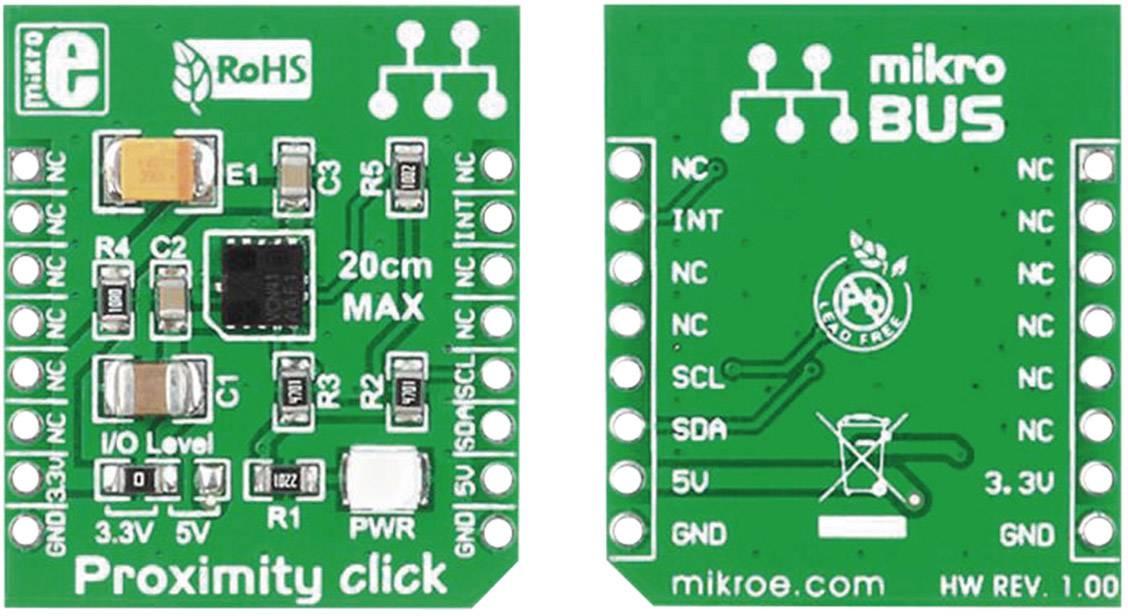 Rozšiřující deska MikroElektronika MIKROE-1445