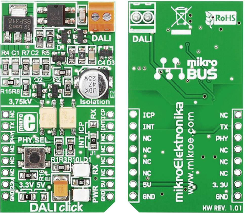 Rozšiřující deska MikroElektronika MIKROE-1297