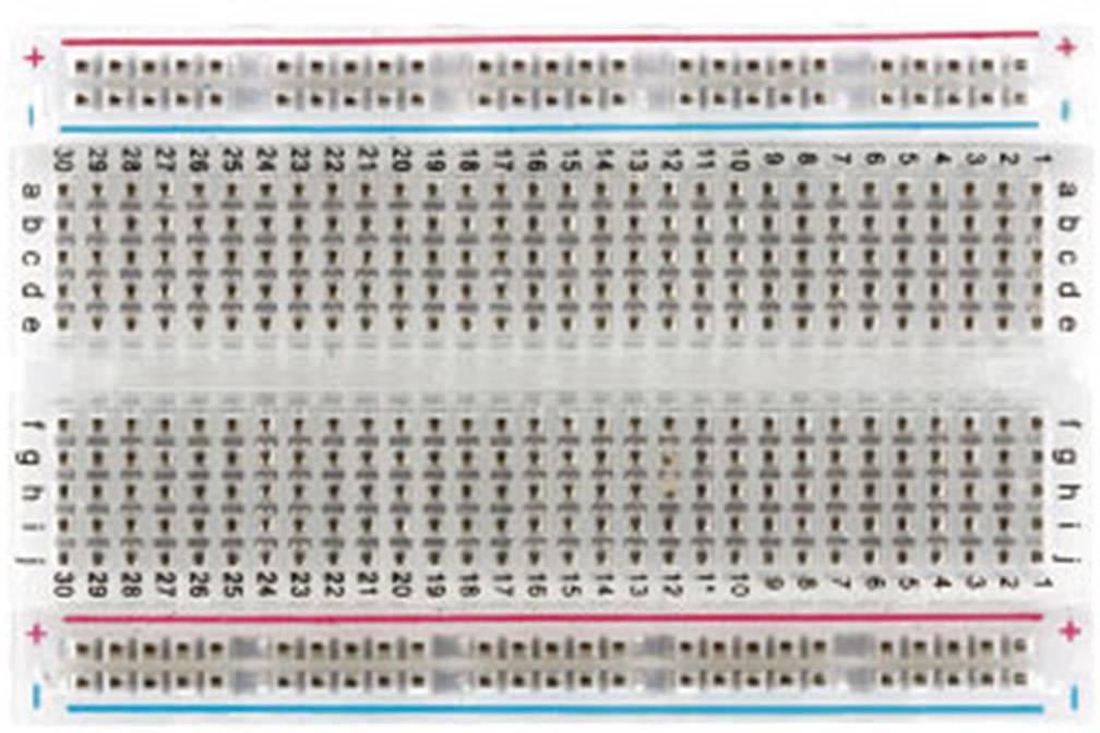 Kontaktní napájivé pole 830 MikroElektronika MIKROE-1098