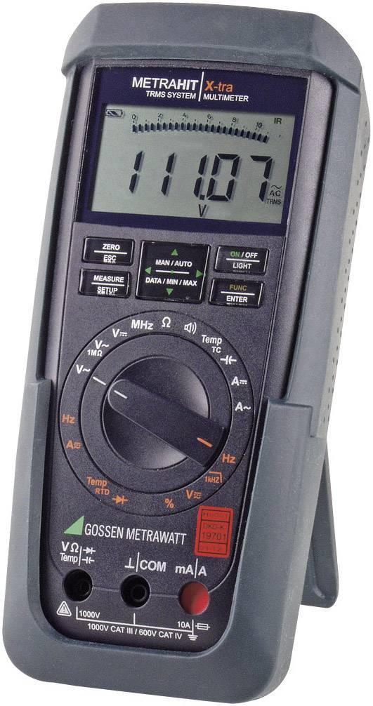 Multimetr digitální Gossen Metrawatt METRAHIT X-TRA M240A kalibrováno dle DAkkS