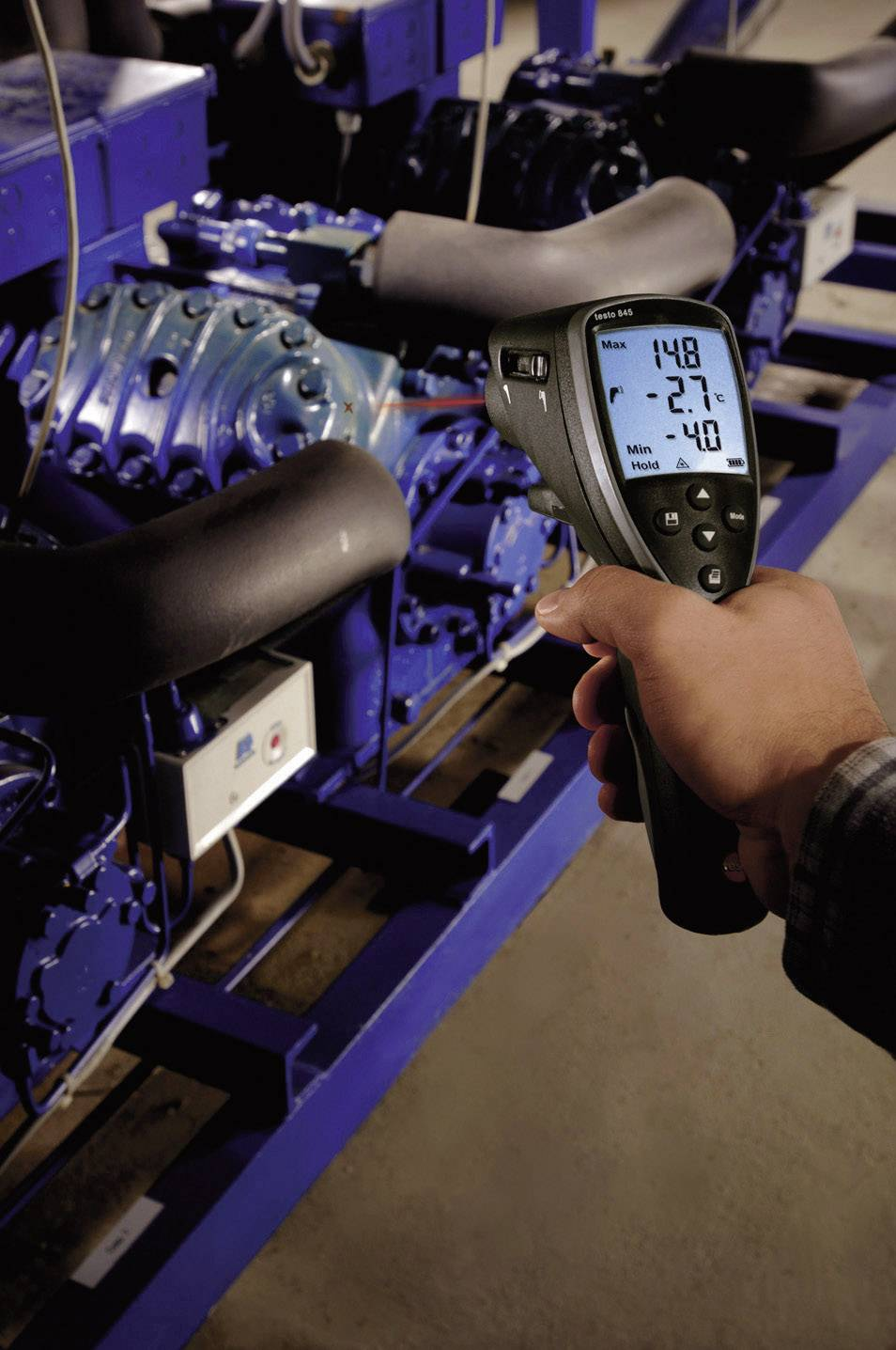 IR teplomer testo 845, -30 až +950 °C