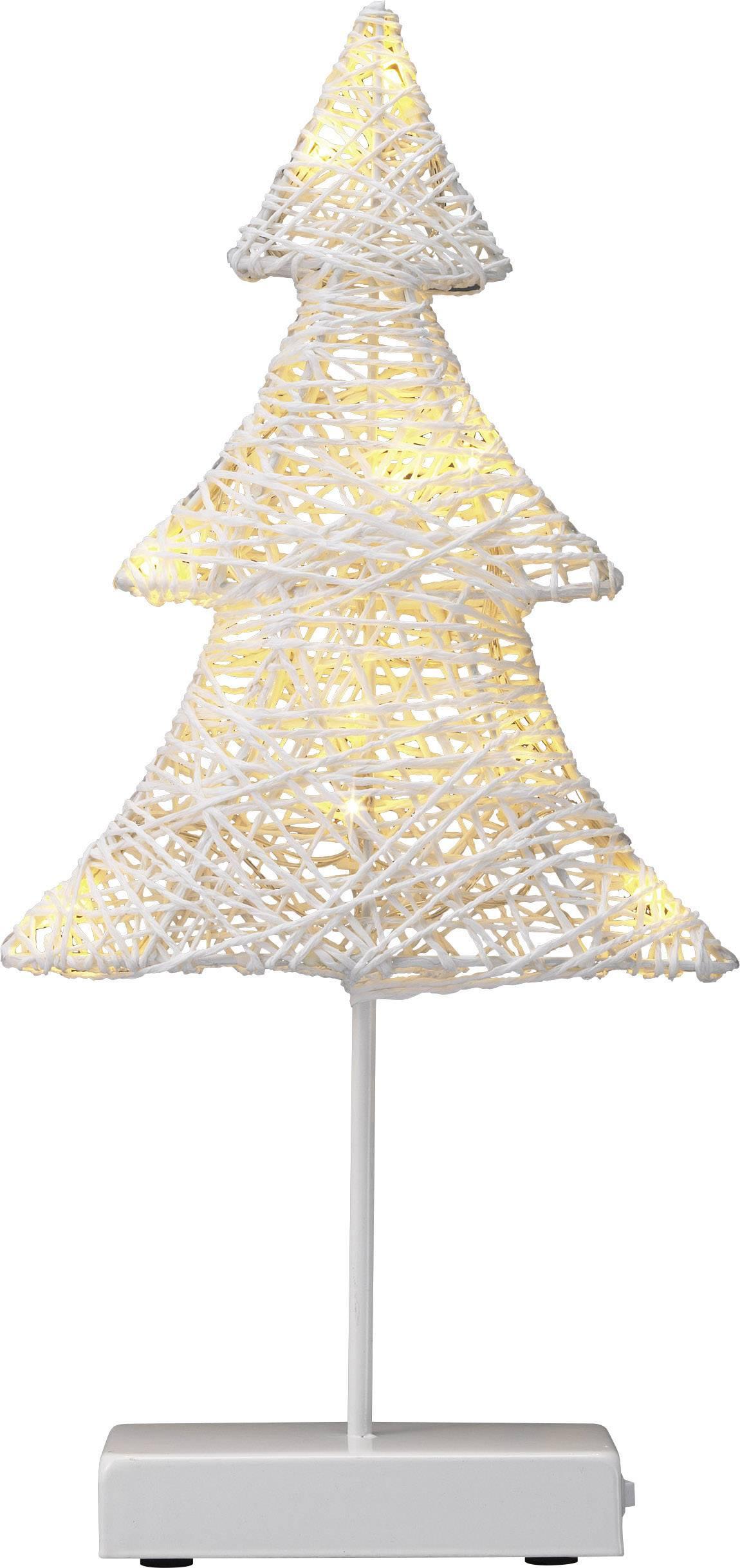 Vianočný stromček LED vianočná dekorácia Polarlite LBA-51-005, biela