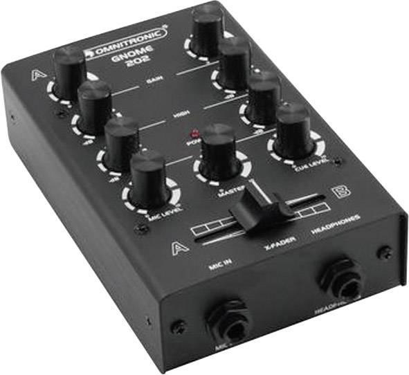 DJ mixážny pult Omnitronic Gnome E-202