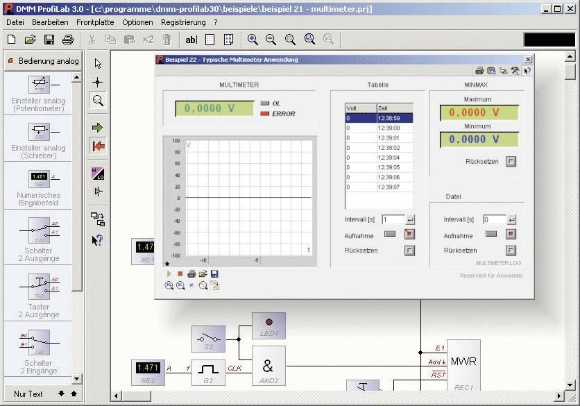 Software k měřicí technice