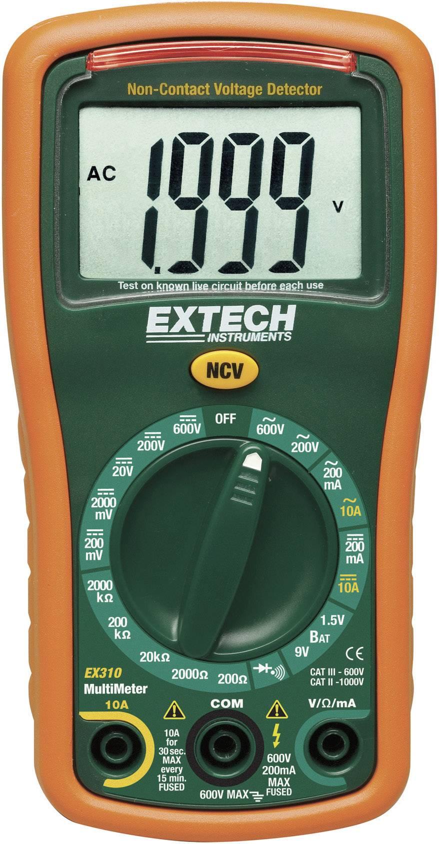 Digitálne/y ručný multimeter Extech EX310 EX310