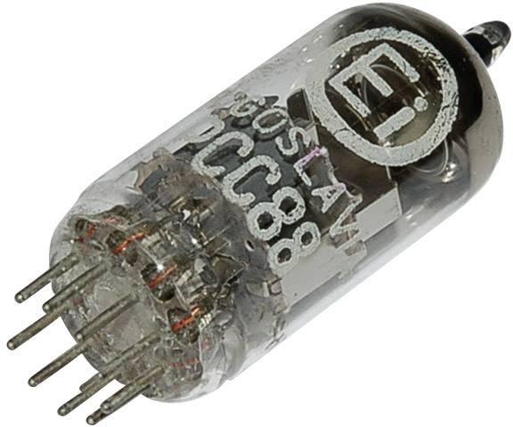 Elektronka PCC 88 = 7DJ8, dvojitá trioda