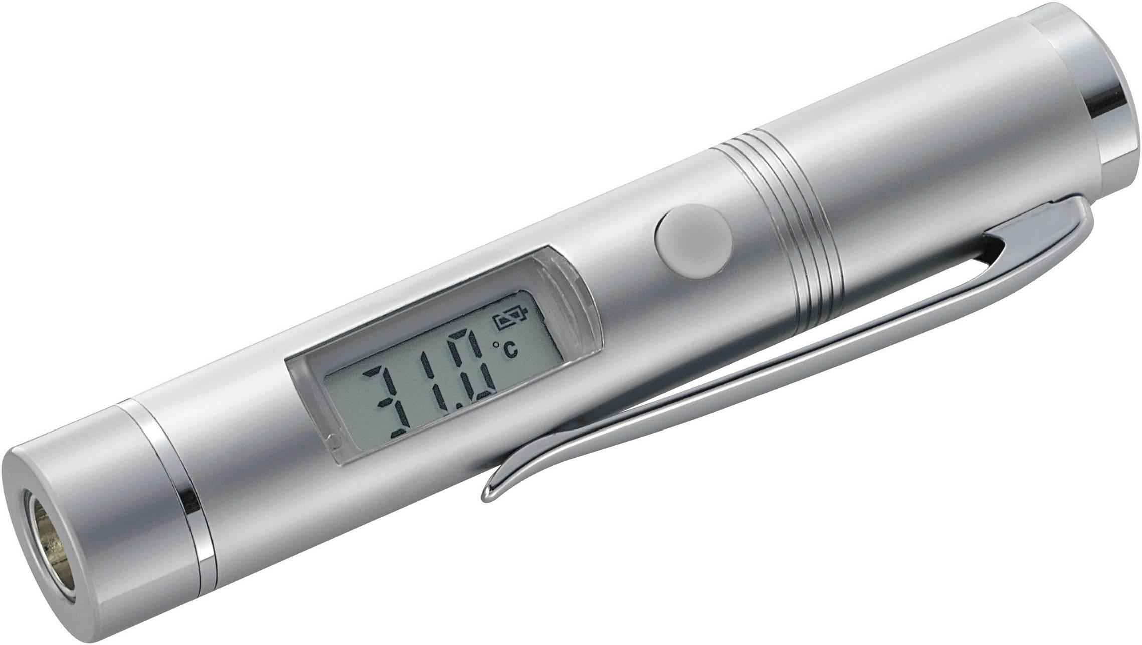 Infračervený teplomer Basetech MINI 1, Optika 1:1, -33 do +220 °C