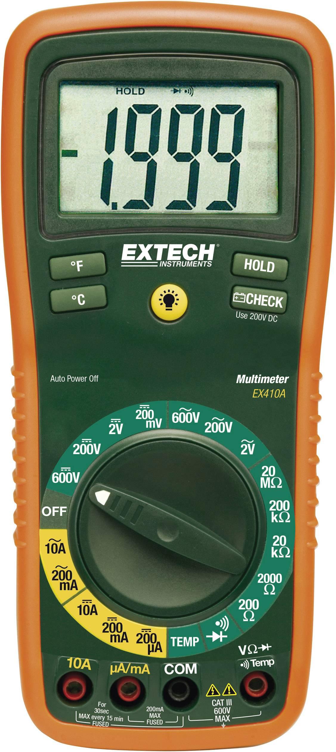 Digitálne/y ručný multimeter Extech EX410A EX410A