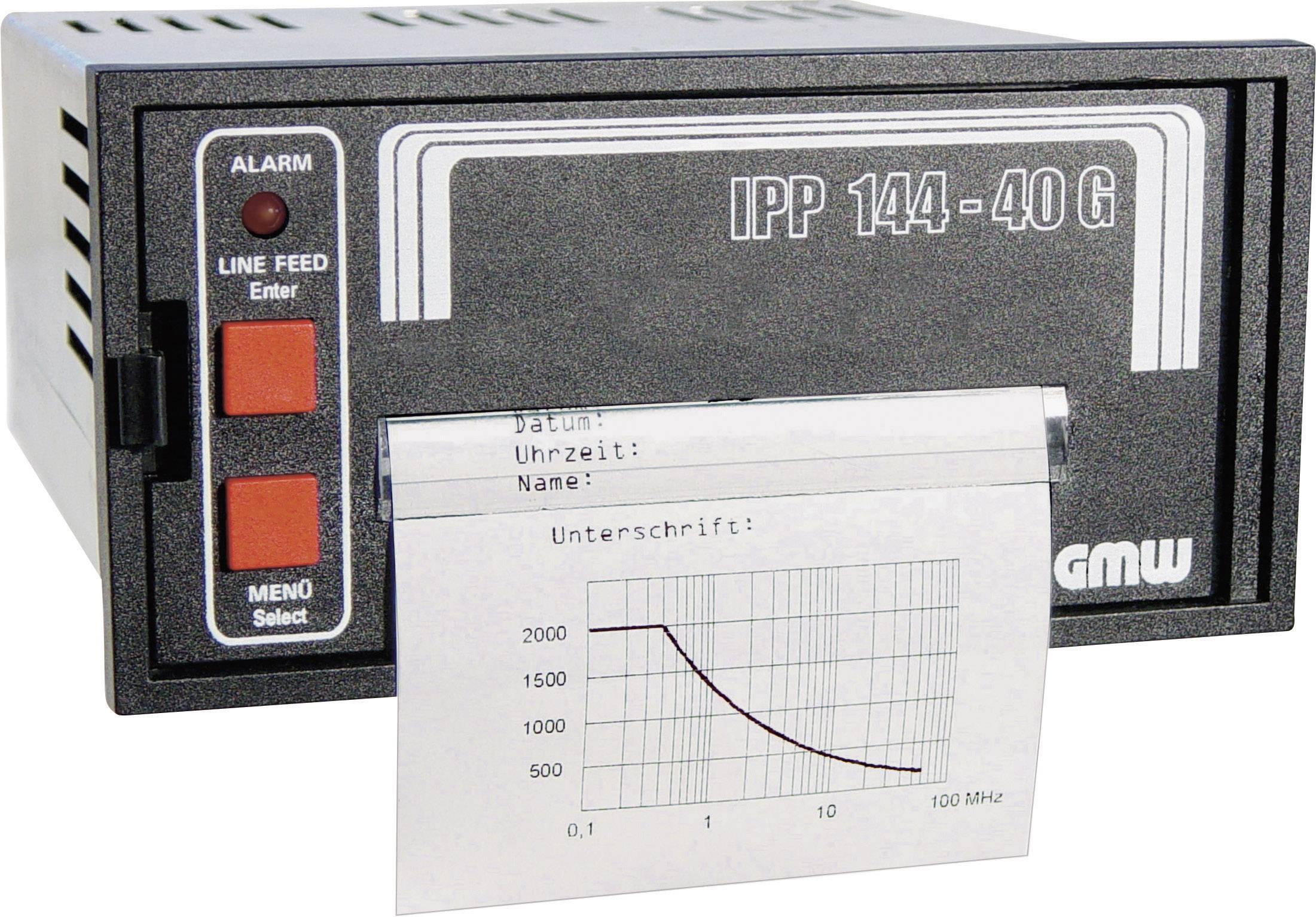 Vestavná termotiskárna GMW IPP144-40G DC, 138 x 68 mm, 19 - 36 V/DC