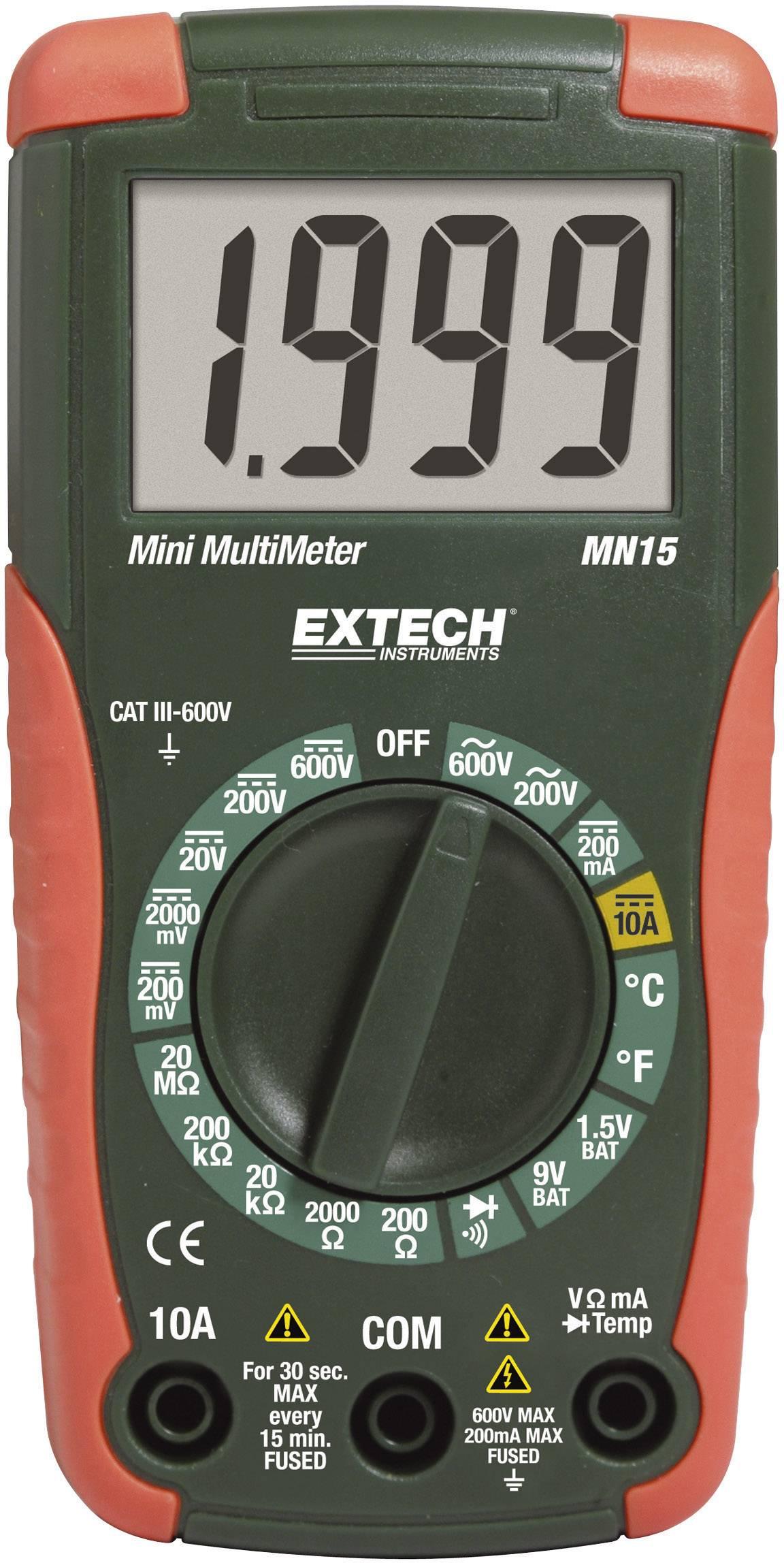 Digitální multimetr Extech MN15