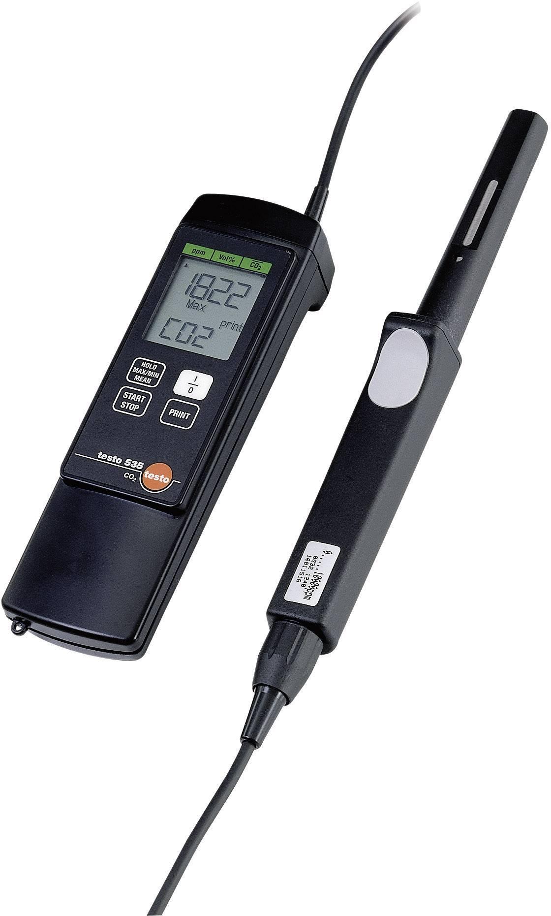 Přístroj pro měření koncentace CO2 testo 535