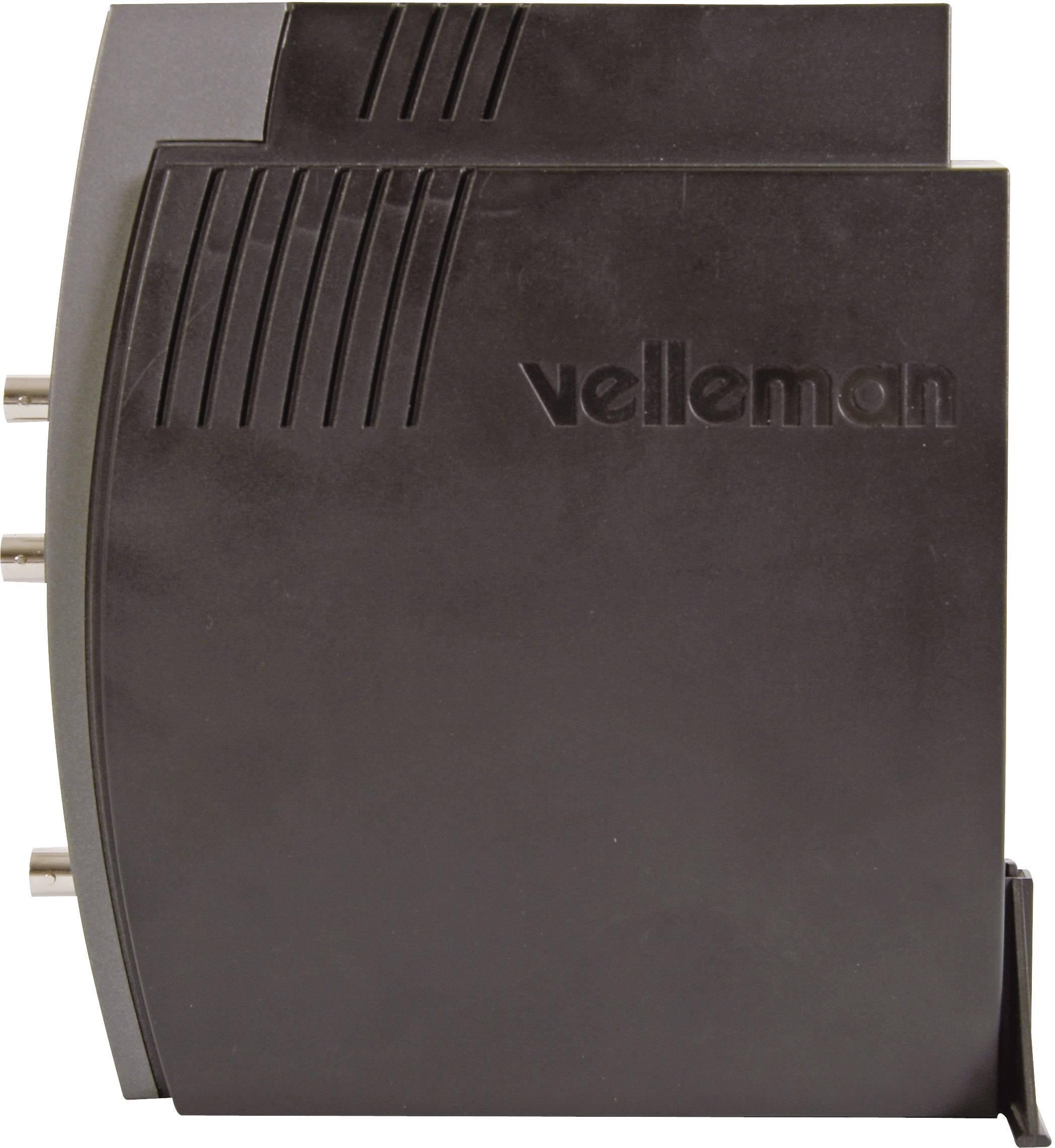 USB, PC osciloskop Velleman PCSGU250, 12 MHz, 2-kanálový