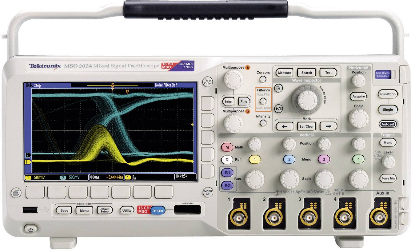 Digitálny osciloskop Tektronix MSO2012B, 100 MHz, kalibrácia podľa ISO