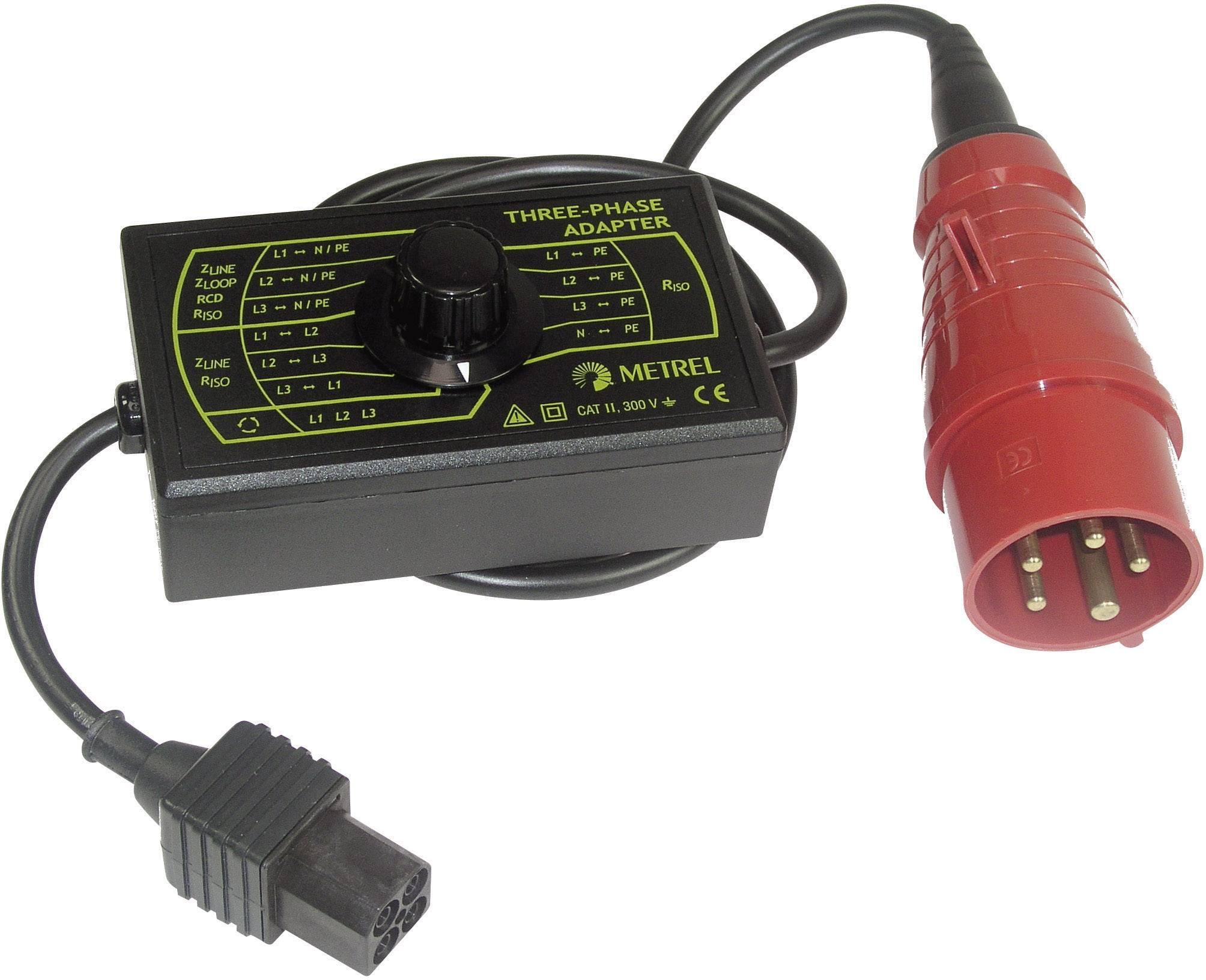 Trojfázový skúšobný adaptér Metrel A 1111 pre Eurotest