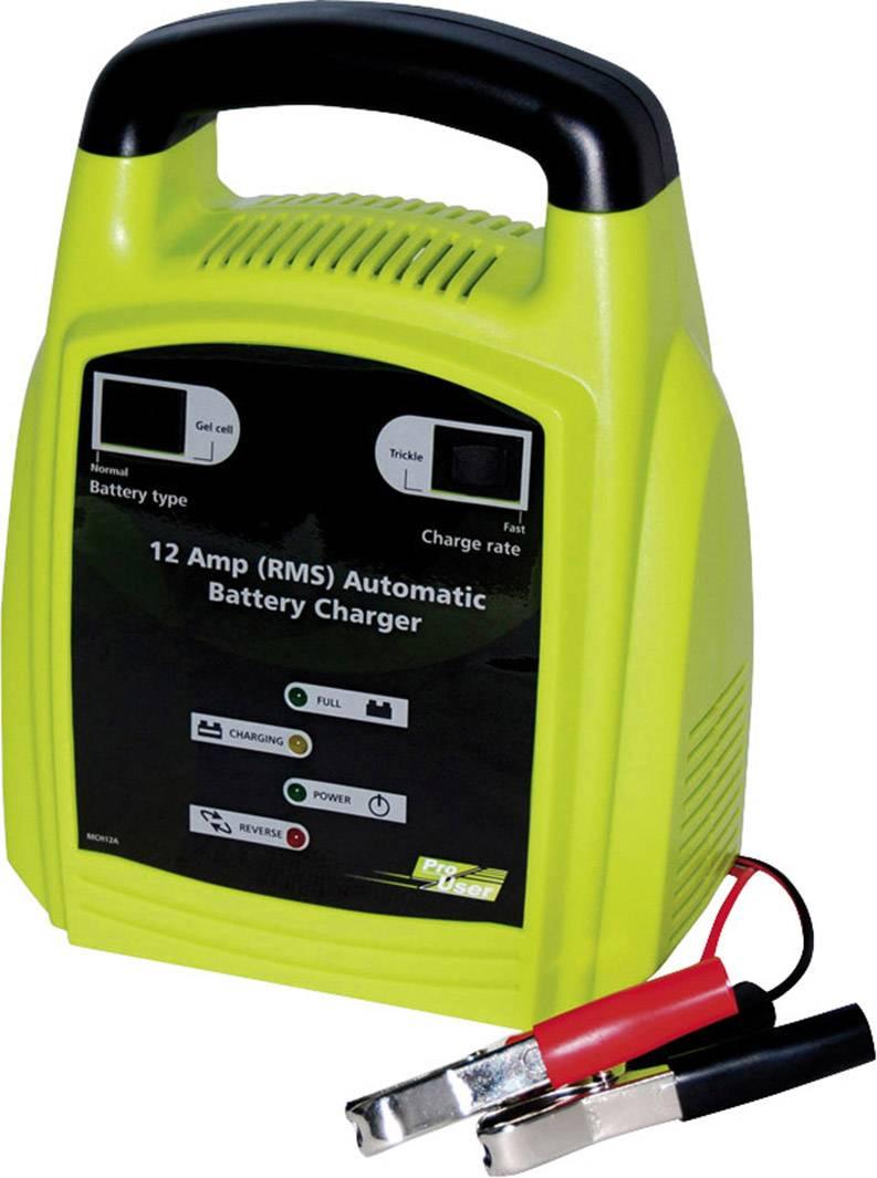 Automatická nabíjačka autobatérií ProUser MCH, 16603, 12 A, 12 V