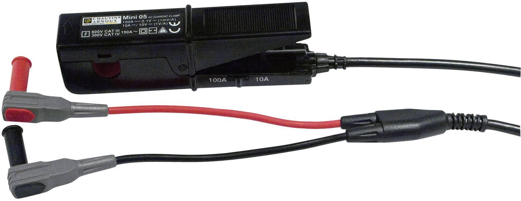 Klešťový proudový adaptér Chauvin Arnoux MINI 05, kalibrováno dle ISO