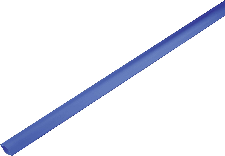 Smršťovací bužírka bez lepidla TRU COMPONENTS 1225520 2:1, -55 až +125 °C, 19 mm, modrá, metrové zboží