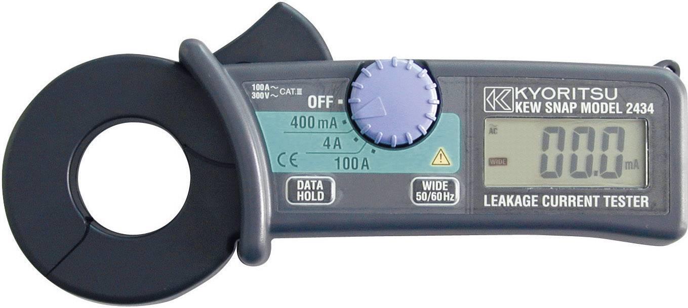 Digitální proudové kleště Kyoritsu KEW 2434, kalibrace dle ISO