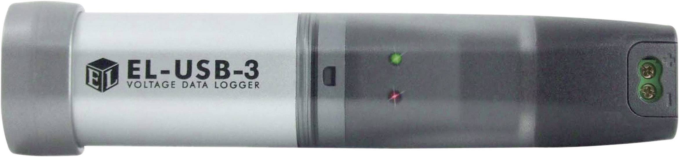 Napäťový datalogger Lascar Electronics EL-USB-3, 0 až +30 V/DC