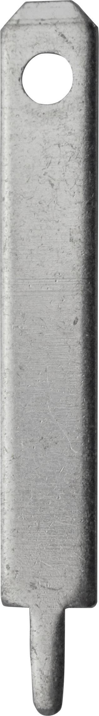 Faston zástrčka Vogt Verbindungstechnik 3780l.68 2.8 mm x 0.8 mm, 180 °, bez izolace, kov, 100 ks