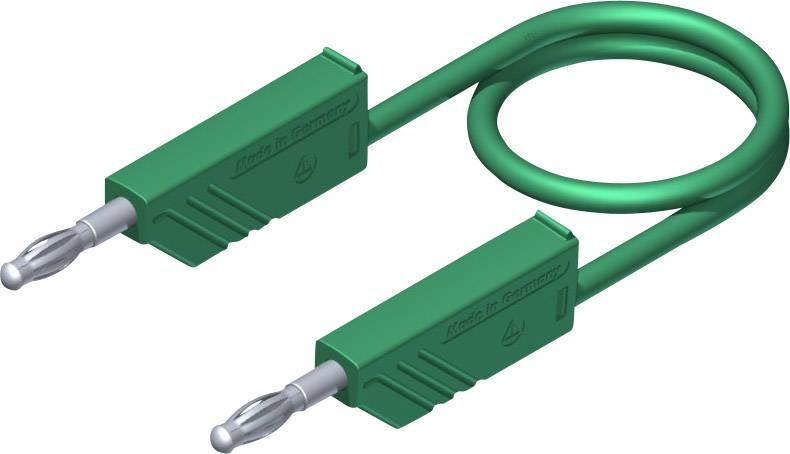Merací kábel Hirschmann CO MLN 50/2, 5 mm², zelený