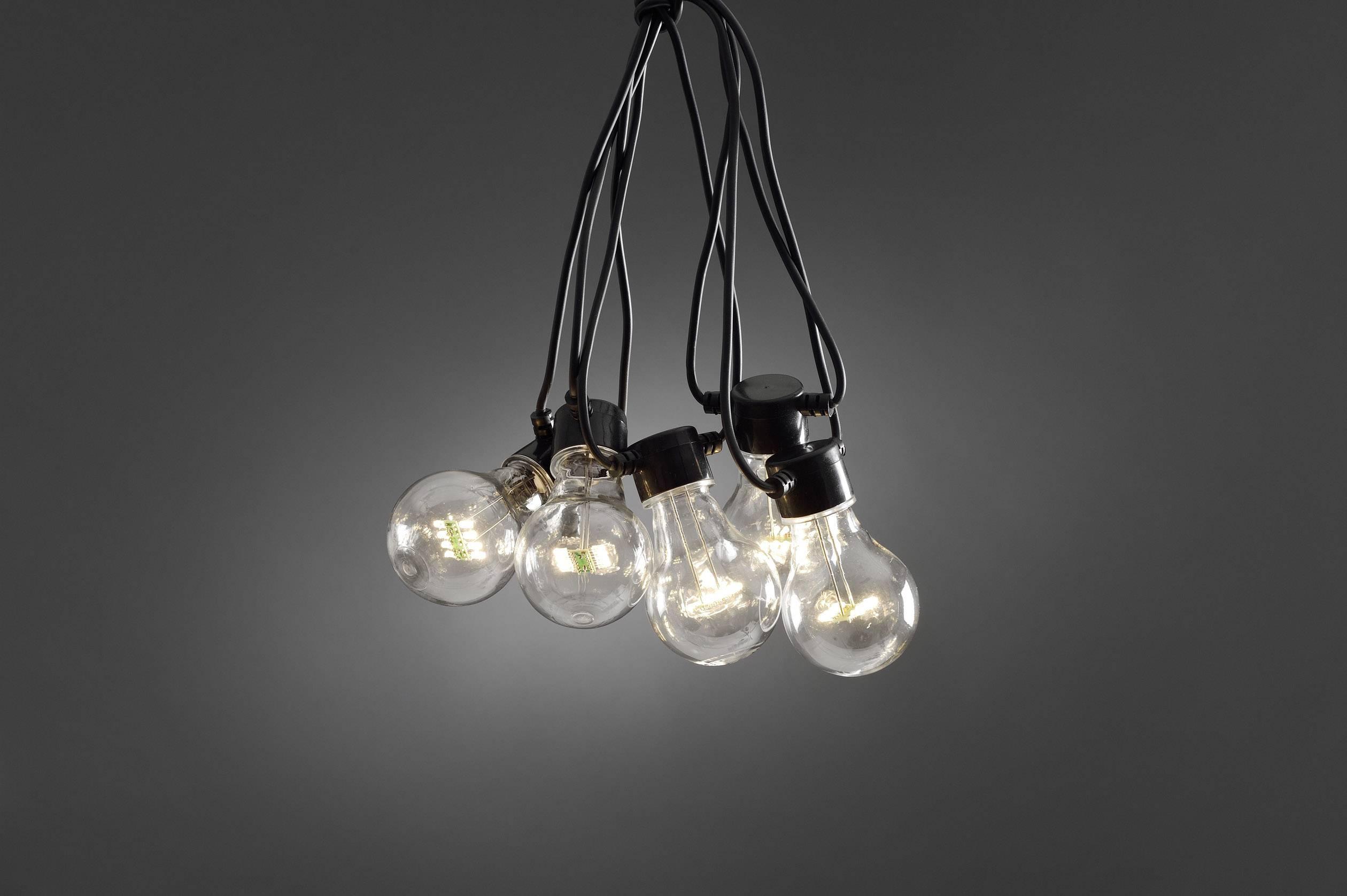 LED světelný řetěz 24 V čirá Konstsmide