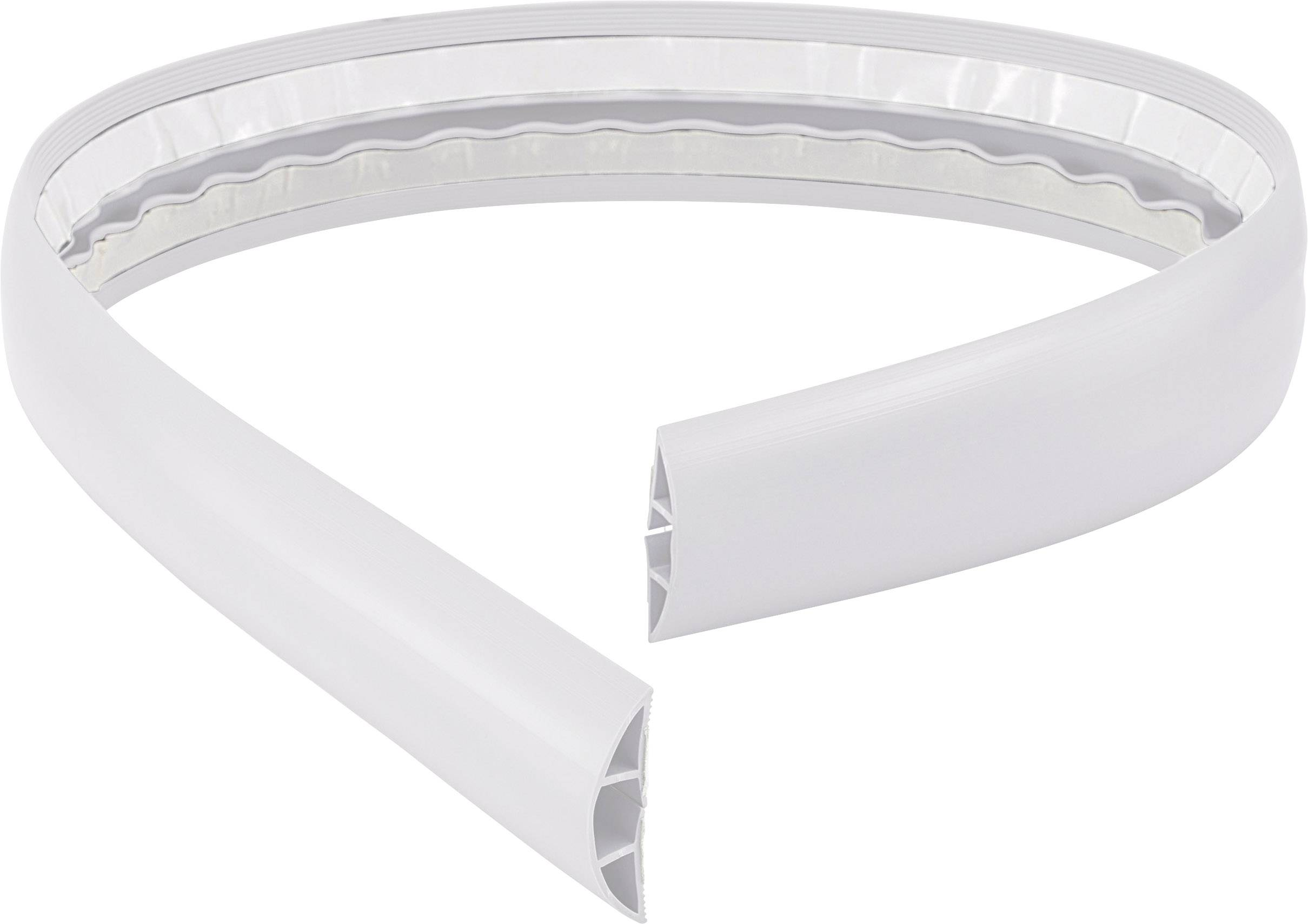 Káblový mostík Conrad Components 1226934 (d x š) 1800 mm x 50.8 mm, biela, 1 ks