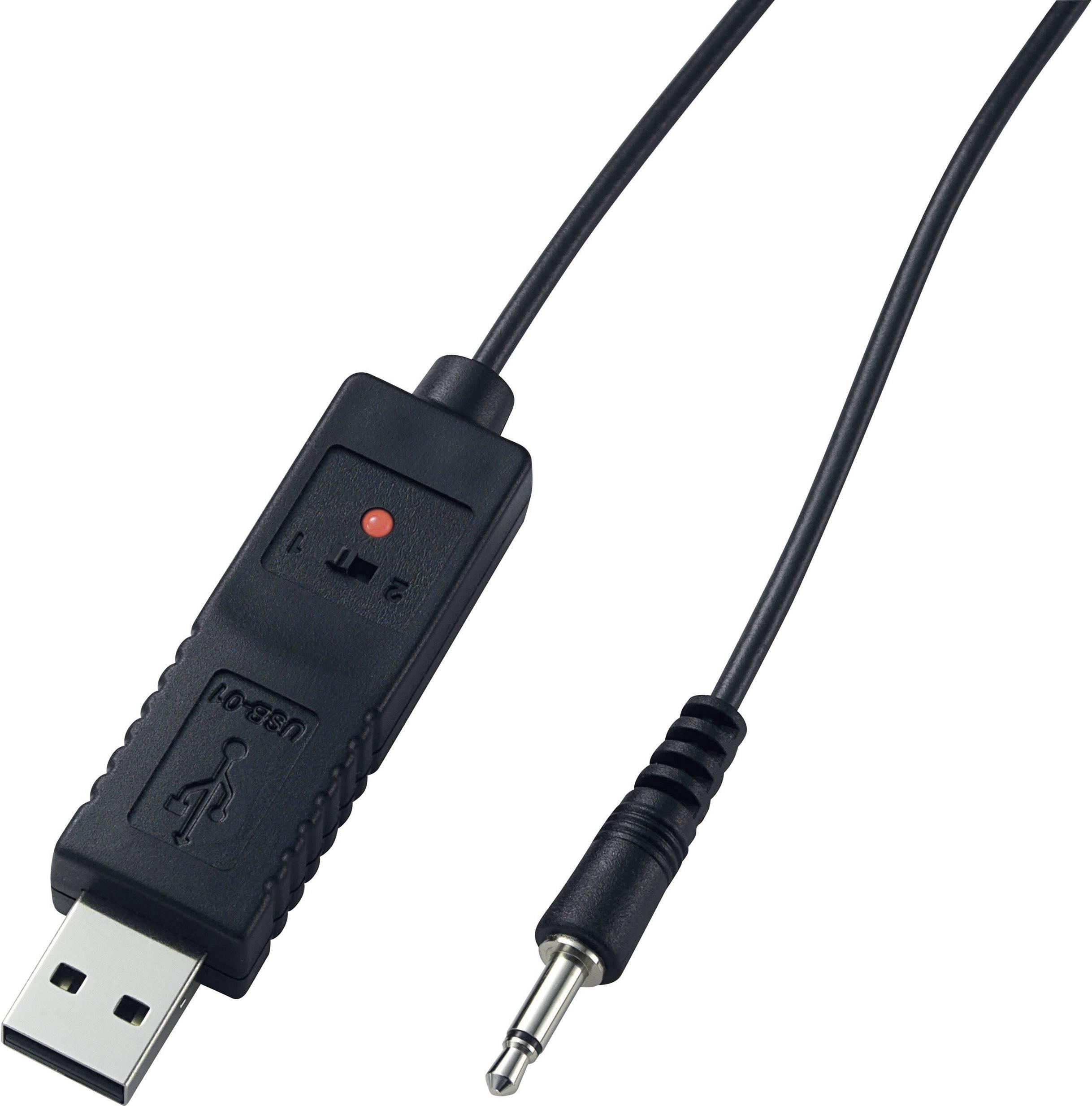 USB propojovací kabel Voltcraft, 122703