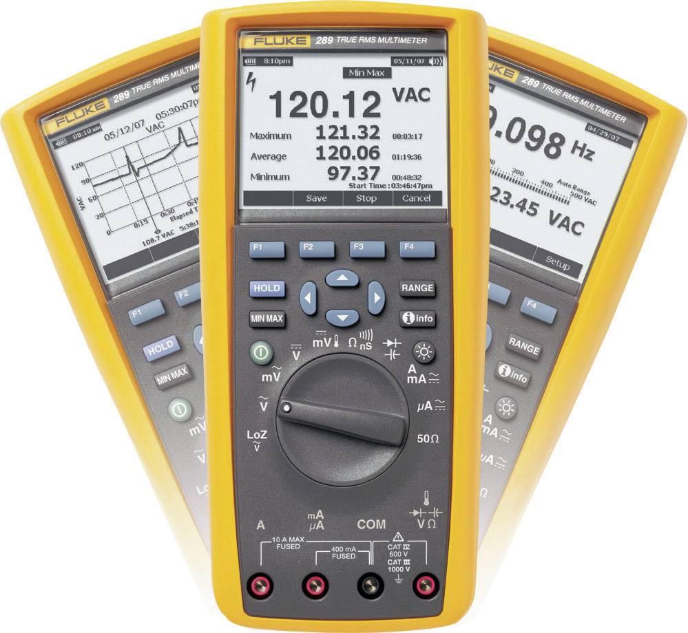 Digitálne/y ručný multimeter Fluke 289/EUR 3947801, grafický displej, datalogger