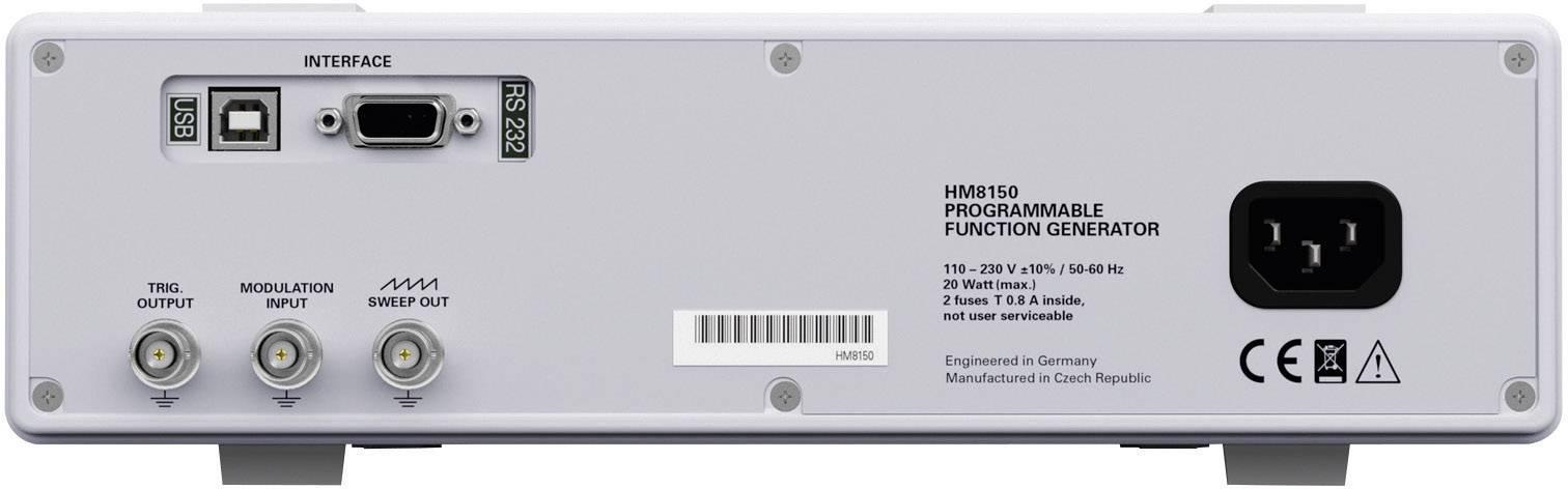 Generátor funkcií Hameg HM8030-6