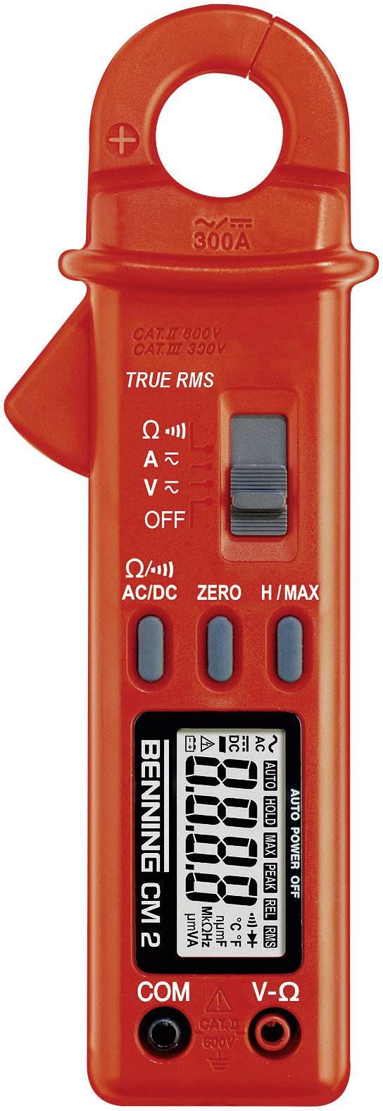 Digitálne/y prúdové kliešte, ručný multimeter Benning CM 2 044035