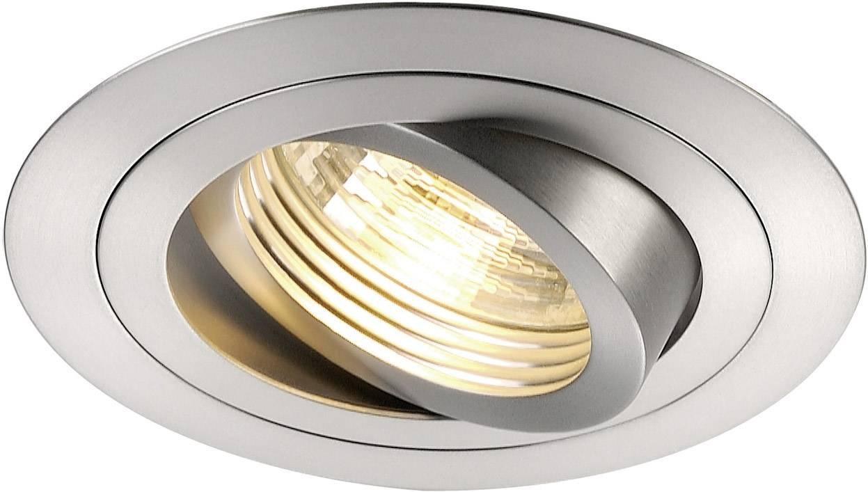 - halogénová žiarovka SLV New Tria 111360 GU10, 50 W, hliník (kartáčovaný)