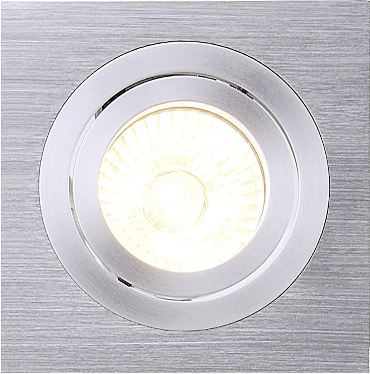 - halogénová žiarovka SLV New Tria I 111361 GU10, 50 W, hliník (kartáčovaný)