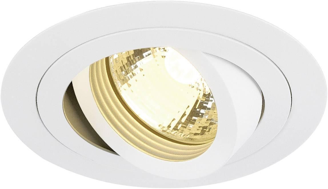 Vestavný kroužek - halogenová žárovka SLV New Tria 113510 GU10, 50 W, bílá