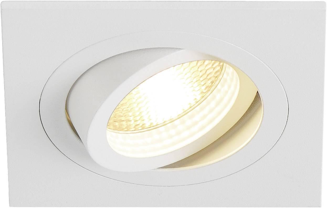 Vestavný kroužek - halogenová žárovka SLV New Tria I 113511 GU10, 50 W, bílá