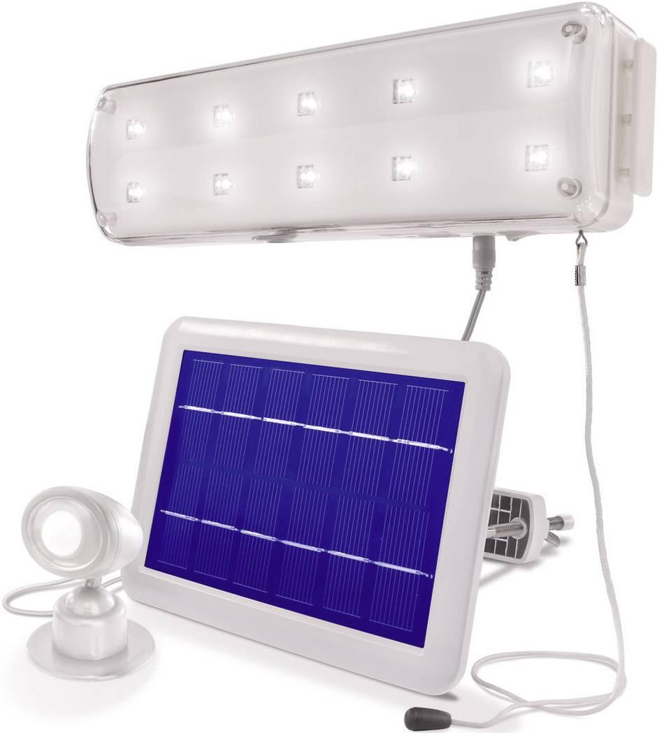 Solárne bodové osvetlenie Esotec 102091 studená biela, biela