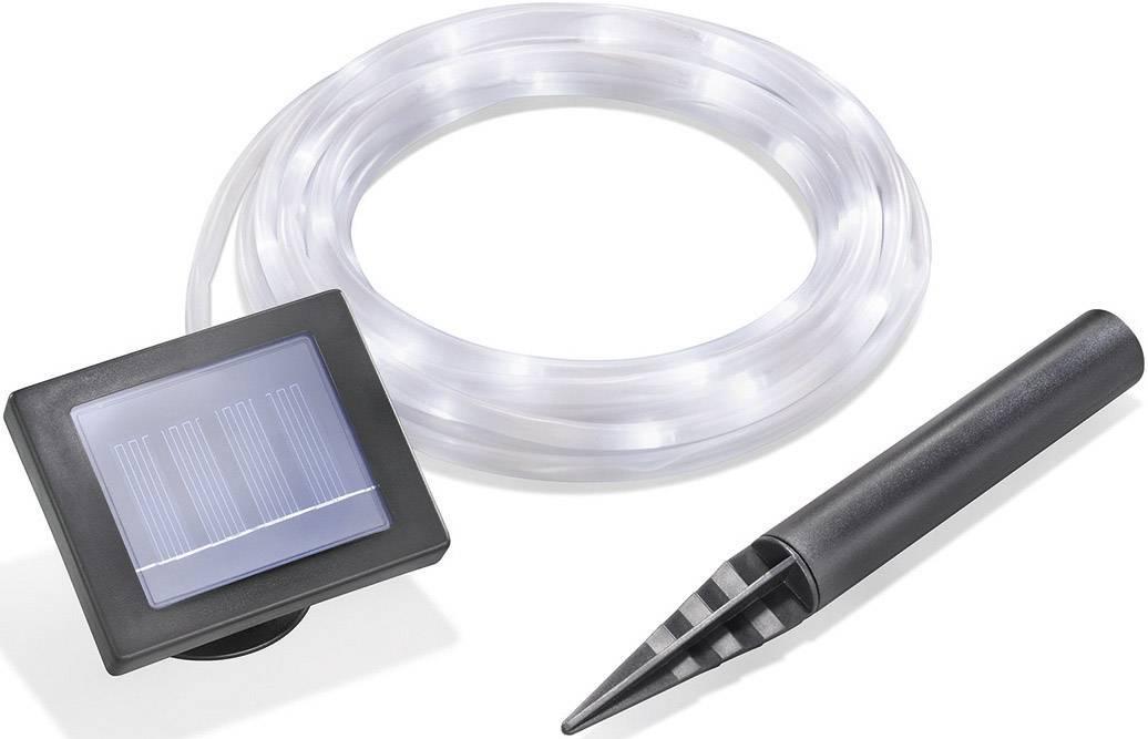 LED solární řetěz Esotec 102157, IP44, transparentní, denní světlo, 7 m