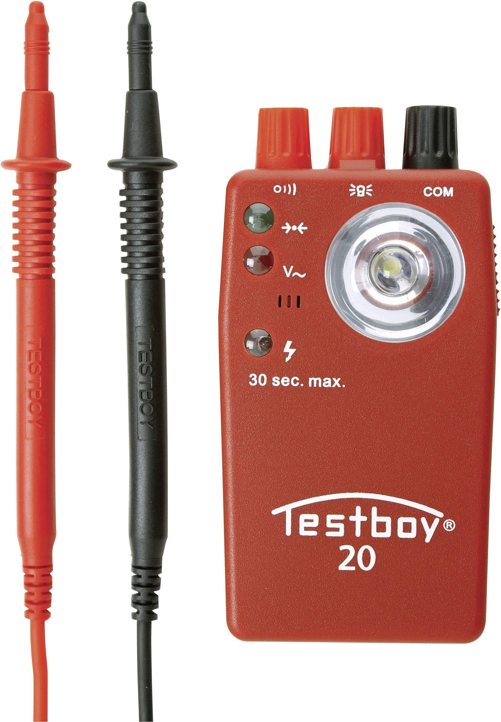 Tester průchodnosti vedení Testboy 20 Plus