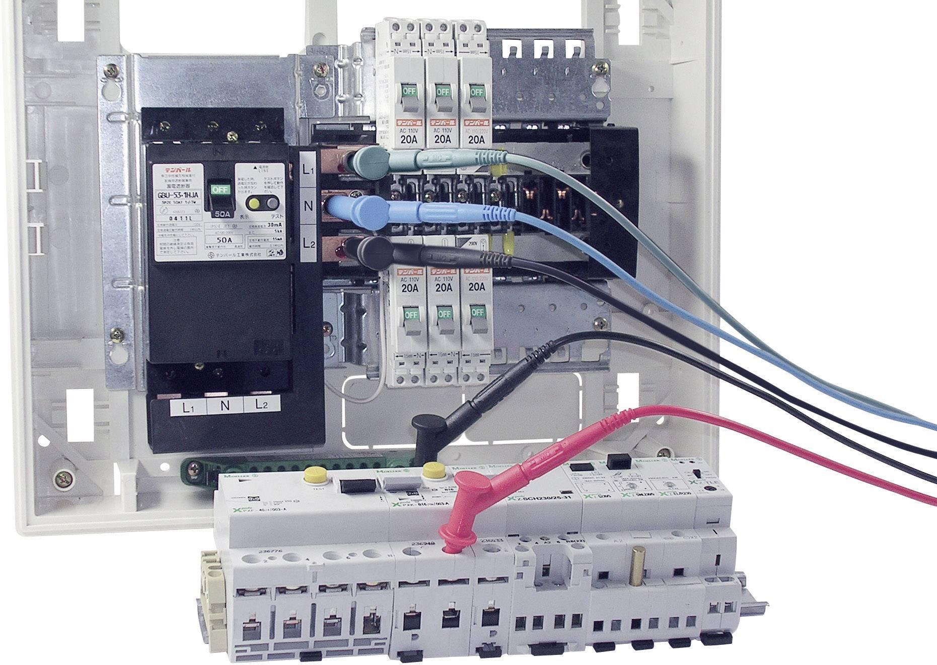 Magnetický merací adaptér Multicontact XMA-7, červený