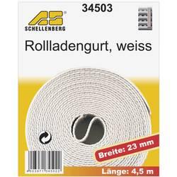 Popruhy pro rolety Schellenberg 34503, 4.5 m, bílá, vhodné pro Schellenberg Maxi