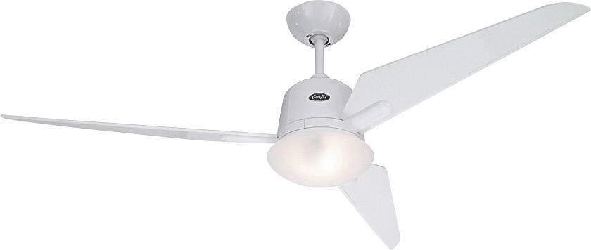 Stropní ventilátor CasaFan Eco Aviatos 132 WE-WE, Vnější Ø 132 cm, lakovaná bílá