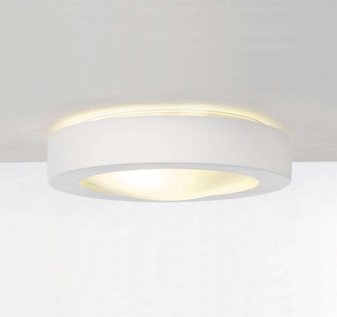Stropné svetlo úsporná žiarovka SLV GL105 148001, E27, 50 W, biela