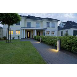LED venkovní stojací osvětlení SLV Arrock Slot 231440, GU10, 4 W, N/A, granit šedá (matná)