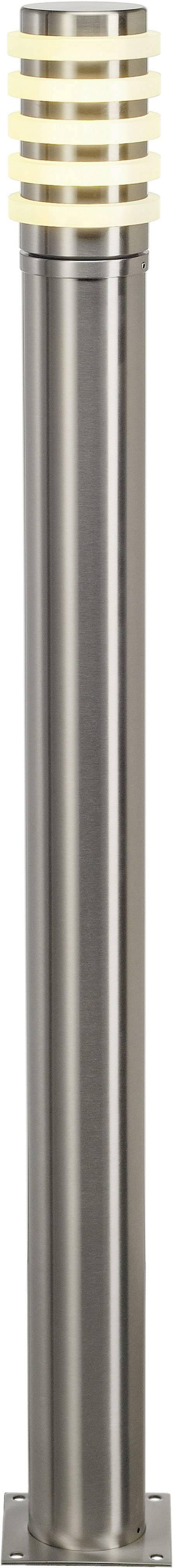 Úsporná žárovka venkovní stojací osvětlení SLV Big Nails Plus 231612, E27, 23 W, nezávisí na žárovce/zářivce, nerezová ocel