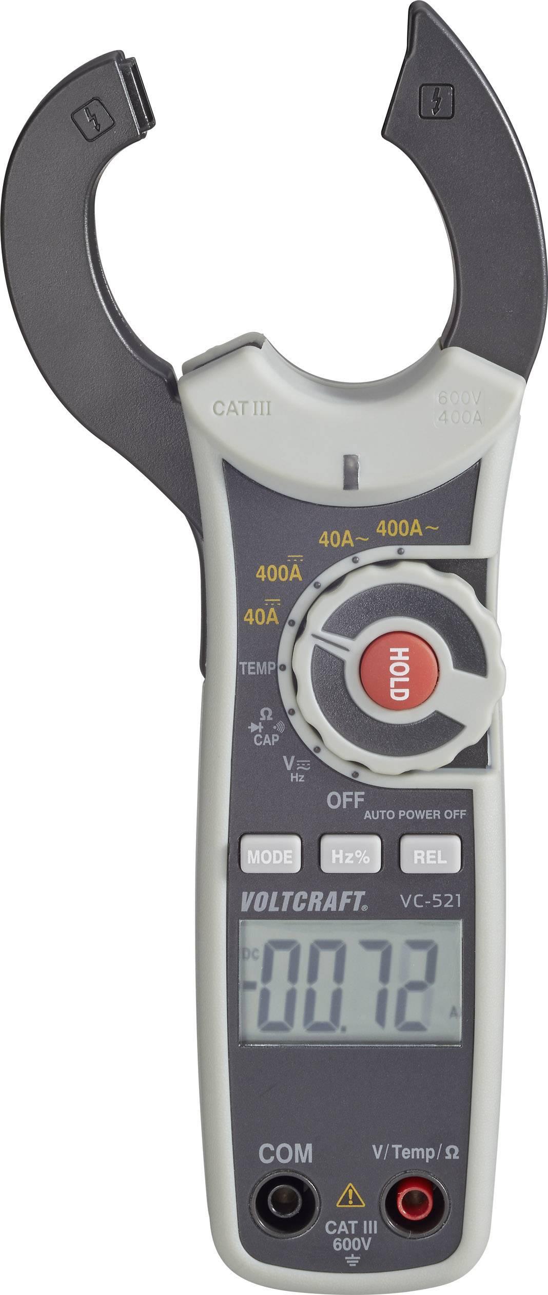 Digitální proudové kleště a multimetr VOLTCRAFT VC-521